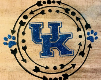 Iron-on Heat Transfer UK Wildcats INSPIRED Vinyl Decal