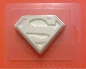 Superman - plastic soap mold soap making soap mould molds soap mold