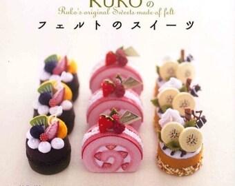 Felt Food Toys/Felt Bakery/Felt Cuisine/Felt Play Food/Felt Japanese eBook/Japanese Crafts eBook/Japanese Felt eBook (FAB37)