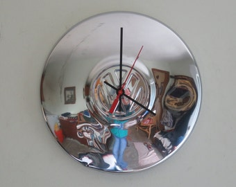 VW Volkswagon Hubcap Clock - Item 2614