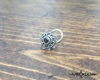 Indian Nose Jewelry Indian Nose Stud Silver Nose Stud Silver Nose Ring Tribal Nose Jewelry Tribal Jewelry Body Jewelry Vedora Nose Ring