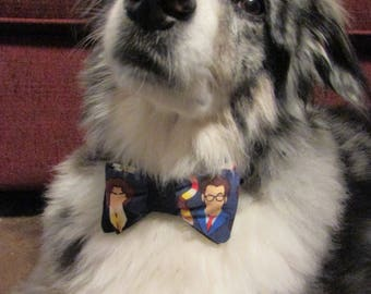 Dog Bow Tie Adjustable Doctor Who All Doctors