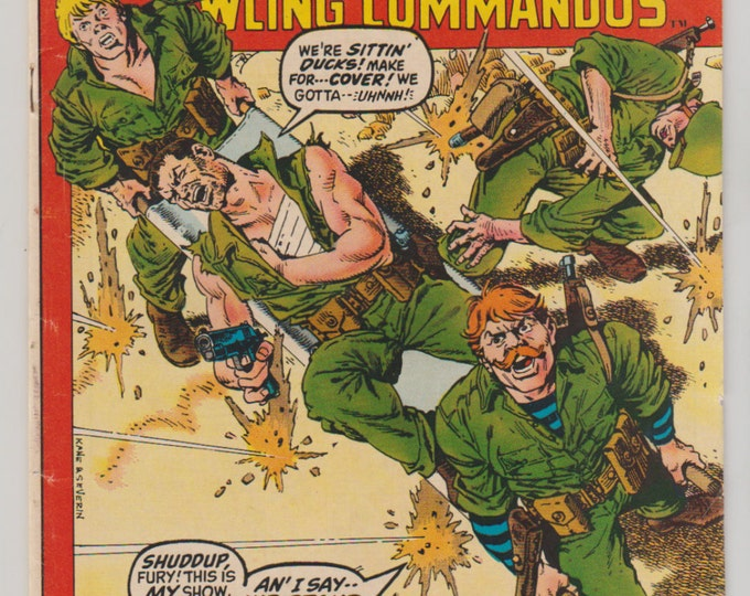 Sgt. Fury and his Howling Commandos; Vol 1, 96, Bronze Age Comic Book. FN (6.0). March 1972. Marvel Comics