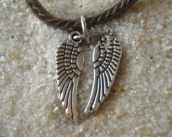 Daryl Dixon Wing Necklace -  Inspired by The Walking Dead