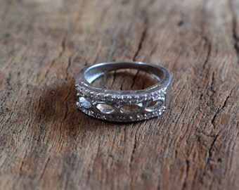 size-4.5US,sterling silver ring,small ring,gift ring