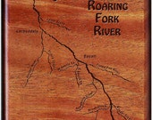 ROARING FORK RIVER Map Fl...
