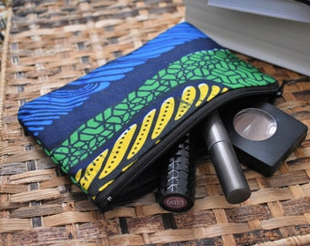 African fabric useful purse - Free shipping!