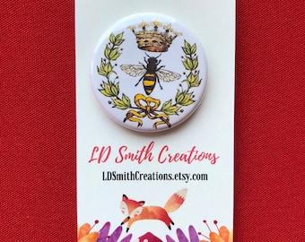 Bee Pin | Bee | Queen Bee | Magnet