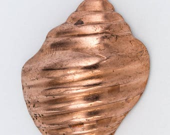 32mm Copper Seashell Charm #CHA153