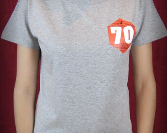 """Women's tee """"Car sticker"""" by deco-cars only on order"""