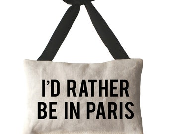 I'd Rather Be In Paris -  Lavender Sachet