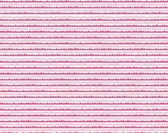 Snapshots Stripe in Pink - 1 yard -  by Bella Blvd for Riley Blake Designs.