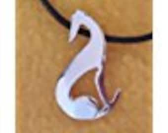 CoccoLevrieri Greyhound pendant with cord