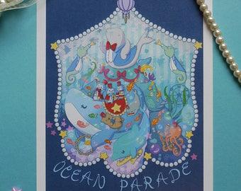 Print: Ocean Parade Art
