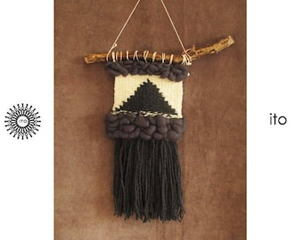 weaving wall hanging/ wool/ tapestry
