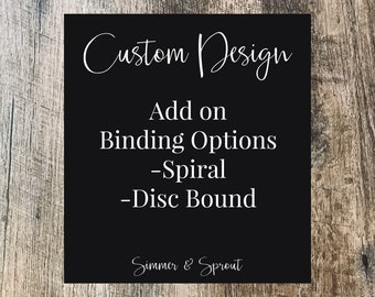 Custom Planner Design, Custom Planner Pages, Custom Agenda Design, Custom Dashboards, Custom Planner Cover, Custom Dividers, Custom Planner