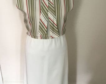 70's Vintage Stripe Dress