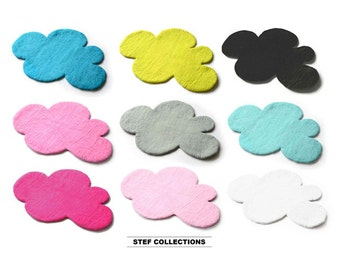 CLOUD Rug, Felt Rug, <LARGE size> Pink, Grey, Kids Rug, Nursery Rug, Rug, Felted Rug, Kids Room Rug, Children decor <SELECT your Colour>