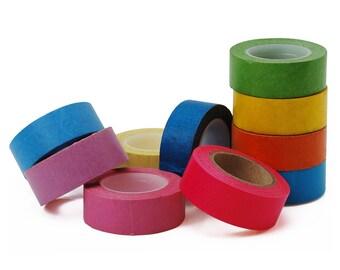 10 rolls Washi Decorative Tape (1.5cm*10m) - Colorful 10044050