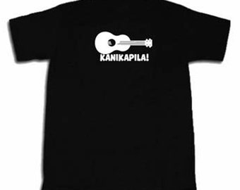 Kanikapila T-shirt Funny Hawaiian Music Ukulele Lover Tee Shirt Hawaii