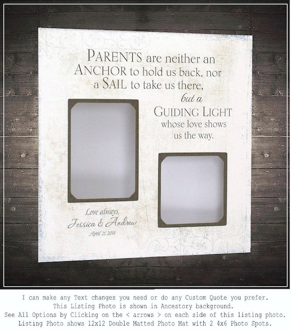 Wedding Gift Parents of the Bride, Groom Parents Wedding Gift, Mom ...