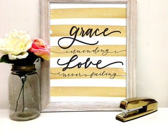 Grace & Love - Archival Print