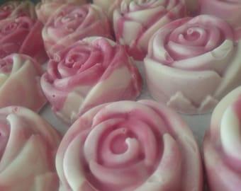Rose Soap handmade vegan natural