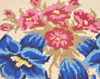 "Lilies Needlepoint - 16"" x 16"""