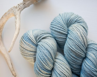 November Blue {Worsted Weight} Non-Superwash Extra Fine Merino Yarn