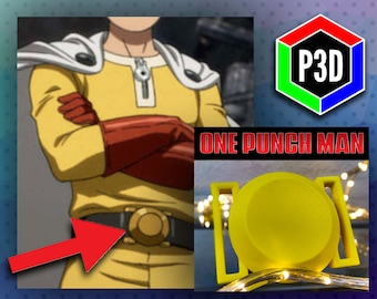 One Punch Man's Belt - 3D Printed