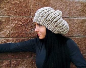 Knit Hat, Pom Pom Hat, Chunky Knit Hat Knit, Slouchy Beanie Women, Slouchy Beanie Men, Pom Pom Hat, Slouchy Hat Slouch Beanie Slouch Hat