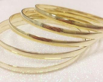 563 Gold Filled Bangles,14kgf 3.5 mm bangle bracelet,14kt gold filled bangles,gold bangles,14kt gold filled bangle bracelet,bangle bracelets