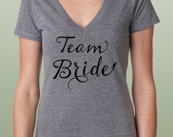 Team Bride shirts, Team Bride shirt, Wifey shirt, Bride Shirt, Wifey Tee, Bridal Gift, Bride to be gift, Wedding Day Shirt, Wifey V neck