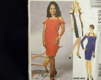 Uncut McCall's Pattern 6533 Size 4-8 Gorgeous, Timeless Party, Prom, Evening, Bridesmaid Dress