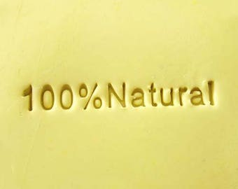 Soap Stamp - Handmade stamp -100% Natural