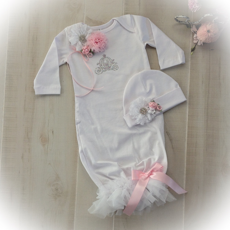 Newborn Girl Take Home Princess Outfit,, Newborn Girl Coming Home ...
