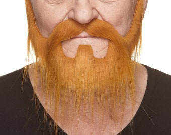 Nomad ginger beard and mustache (046-LB)