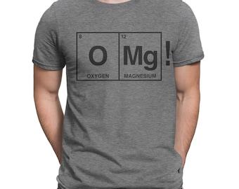 Oxygen Magnesium OMG! iZombie inspired shirt for women or men