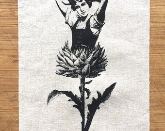 Mary Quite Contrary Thistle Octoberfest patch