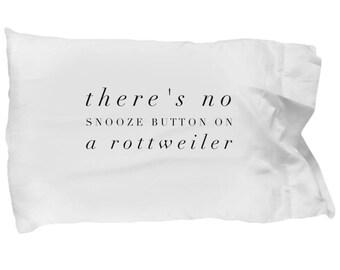 Rottweiler Pillowcase