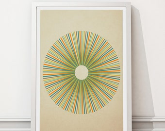 Mid Century Modern, Framed Print, Abstract art, Minimalist art, Printable art, Geometric art, Scandinavian art, Modernist art, Home decor