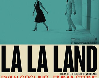 La La Land Movie Poster A1 Large Emma Stone Ryan Gosling