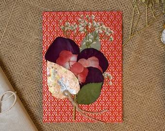 Valentine's Day Card - Red Bouquet