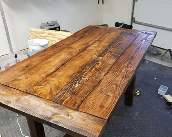 Hand crafted Kitchen Table