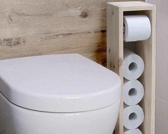 Toilet paper holder, toilet paper stand, toilet towel holder