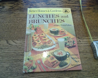 On Sale 1963 Better Homes and Gardens Lunches and Brunches Cookbook