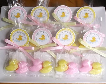Baby Shower Favors - Duck Baby Shower, Girl Baby Shower Favors, Baby Shower Favors Boy, Unique Baby Shower Favors, Soap - Set of 10