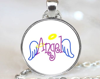 Angel Wings Handcrafted  Necklace Pendant (PD0054)