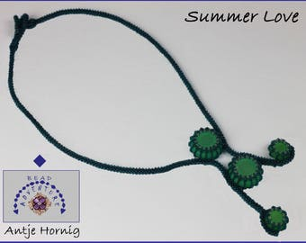 Summer Love, Necklace, Instructions, PDF - Download, GERMAN