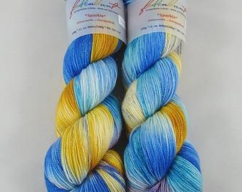 Supernova - Merino/nylon/Stellina, superwash high twist - hand dyed